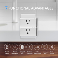 SONOFF S31 Smart Mini Socket US 16A Wireless WIFI Remote Control Plug Timer Energy Power Monitor Switch Outlet Alexa Google Home