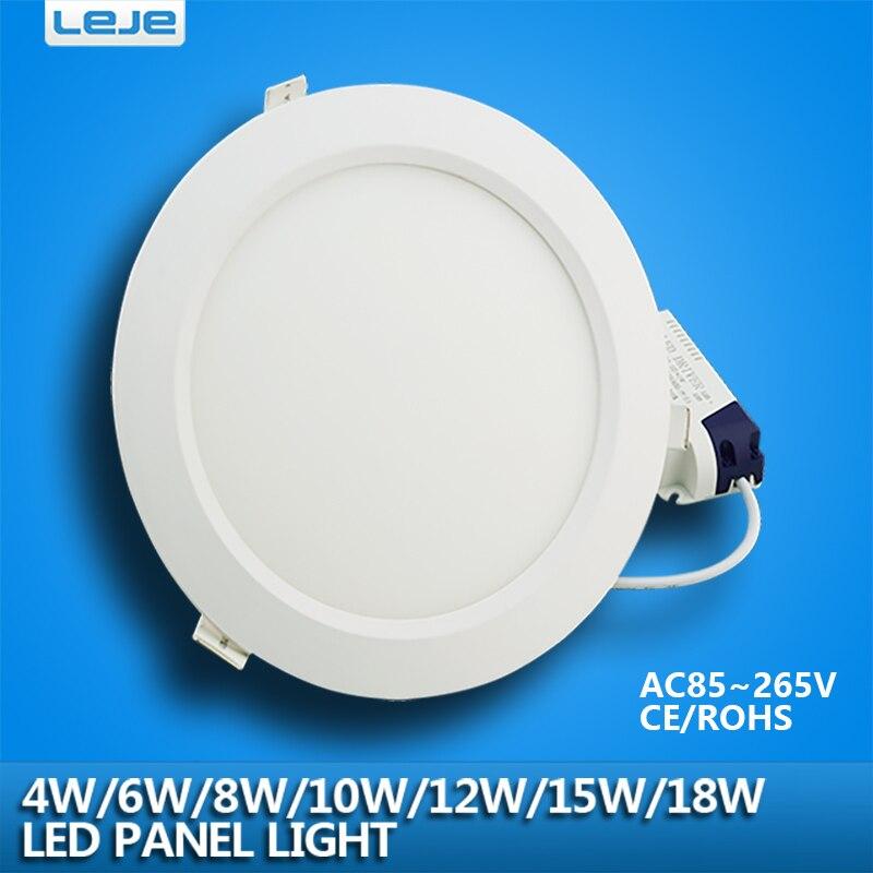 Ultra Thin Led Downlight Lamp 4w 6w 8w10w 12w 15w 18w Led