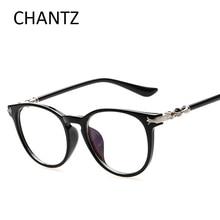 2016 Fashion round clear lens glasses women optical frames brand design vintage men eyeglasses frame Korea style gafas de sol