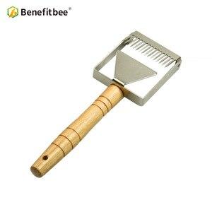 Image 2 - Benefitbee di Marca il Miele Uncapping Raschietto Uncapping Forcella A Nido Dape Honey Raschietti Strumento di Apicoltura Apicoltura Attrezzature