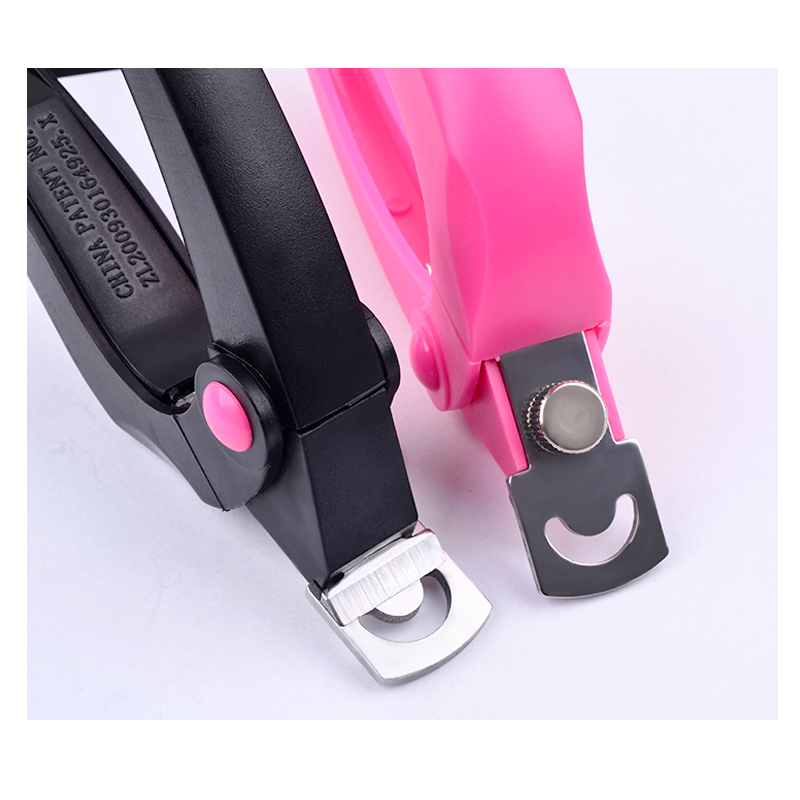 1 Pcs Rose Black Nail Art Tips Scissors Special False Nails Clippers French Edge Cutter Stainless Scissors DIY Manicure Tools in Clippers Trimmers from Beauty Health