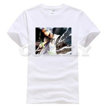 2019 new T-shirt Kurosaki Ichigo bleach Large size Japan Anime Cartoon Fashion Summer dress men tee street Funny t shirt Retro 2019 new t shirt print kurosaki ichigo bleach cool japan anime cartoon fashion summer dress men tee street funny t shirt cozy