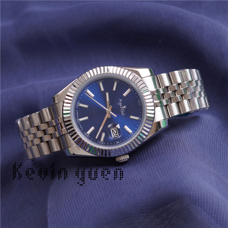 41Mm Datejust Steel Blue Mechanical Automatic Watch President Desinger Watches