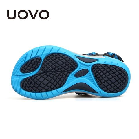 UOVO 2019 Kids Sandals Open Toe Boys Sandals Textile Children Sandals Light-weight Sole Little Boys Summer Shoes size 28#-35# Multan