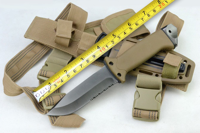 1400 Camping Tactical Fixed Knives,12C27 Steel Blade Hunting Rescue Knife,Survival Knife.