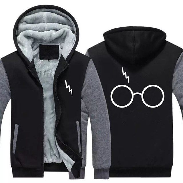 Harry Potter Warm Glasses Hoodie