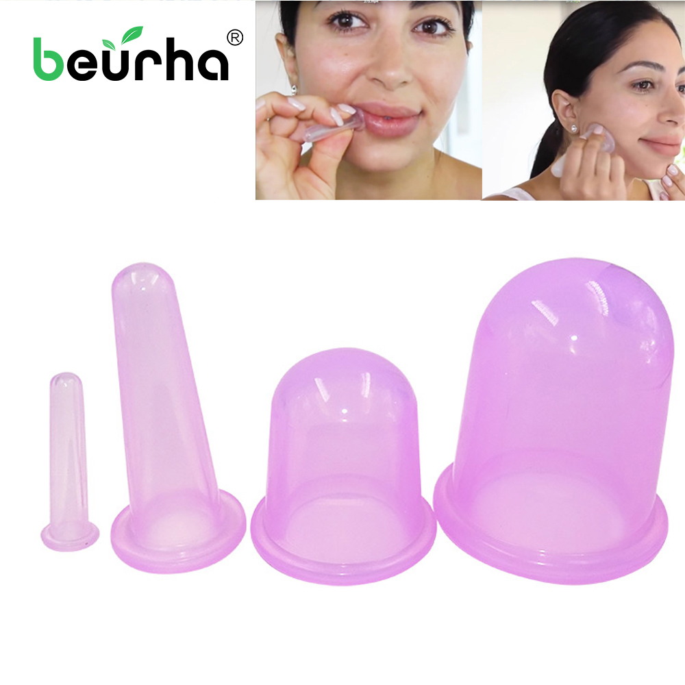 Beurha Vacuum-Can-Cup Massage Anti-Cellulite Cans Chinese Jar Ventouse