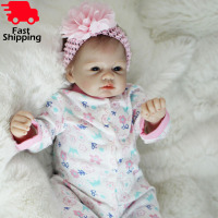 Otarddolls Bebe Reborn Dolls 2255cm soft Vinyl Silicone reborn baby doll Cute Girl Toys boneca For Children Birthday Gift