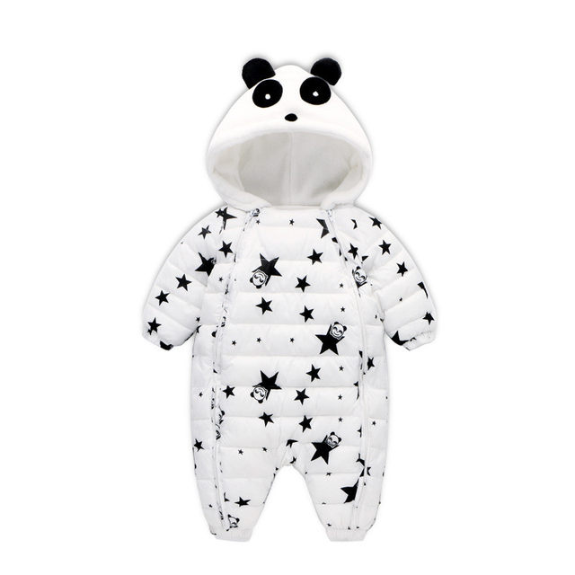 ad2e77720 Online Shop 29KEIZ Baby Winter Cotton Rompers Cute Panda Girls Boys ...