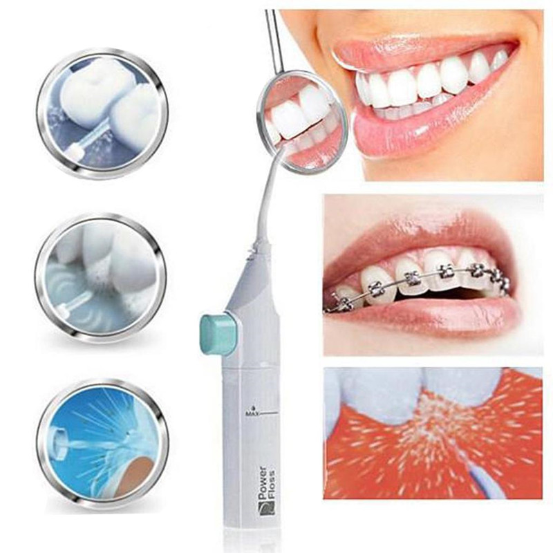 Portable Dental Floss Cordless Oral Irrigator Water Flosser Power Jet Teeth Cleaning Mouth Denture Cleaner Irrigator Of the Oral