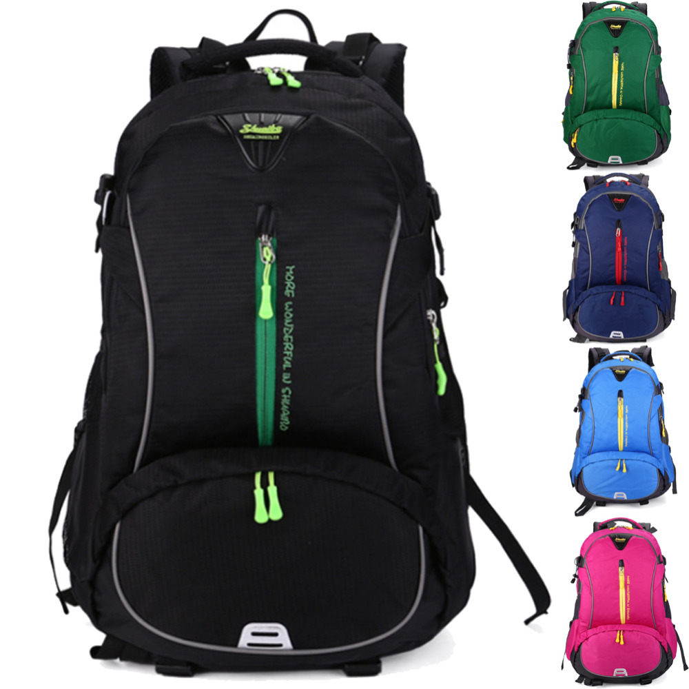 17 17.3 Inch 40L Waterproof Nylon Laptop Notebook Sports Climbing Outdoor Backpack Bags Case for Men Women School Travel 40l waterproof nylon women