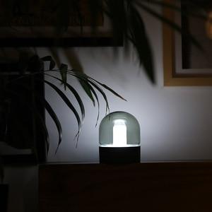 Image 3 - Vintage di Vetro Luce di Notte del USB di Ricarica Nostalgico Retrò Desktop Lampada Atmosfera di Respirazione Dimmable Comodino Camera Da Letto Lampada Da Decro