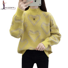 Winter Women Turtleneck Sweater Pullover 2018 New Bottoming Fashion Warm Coltrui Dames 628