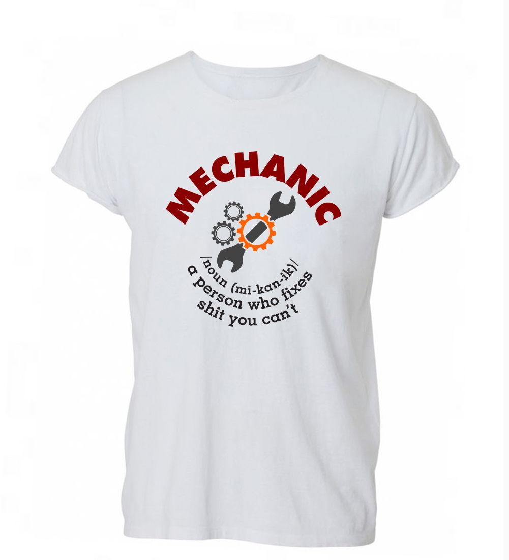 2018 Summer Fashion Casual Men O-Neck T Shirt Mechanic Definition Funny A Person Who Fixes T Shirt  Tshirt Mens Womens Gift