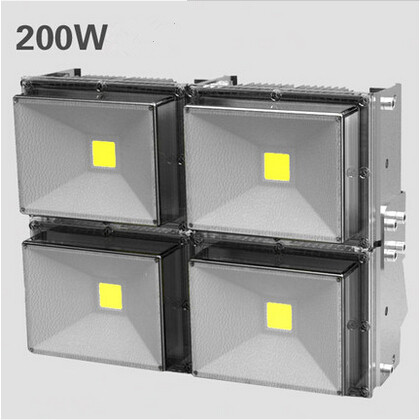 New High Quality 50w 100w 150w 200w 240w Led Flood Light Outdoor Waterproof Ip67 Ac85-265v Led Lamp Warm White/cool White Large Assortment Outdoor Lighting Lights & Lighting