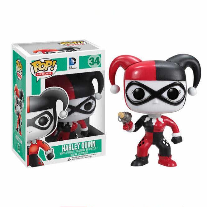FUNKO поп 1 шт. первое издание официальный DC герои: Харли Квинн фигурки модель подарок для друга ребенка день рождения оригинальная коробка