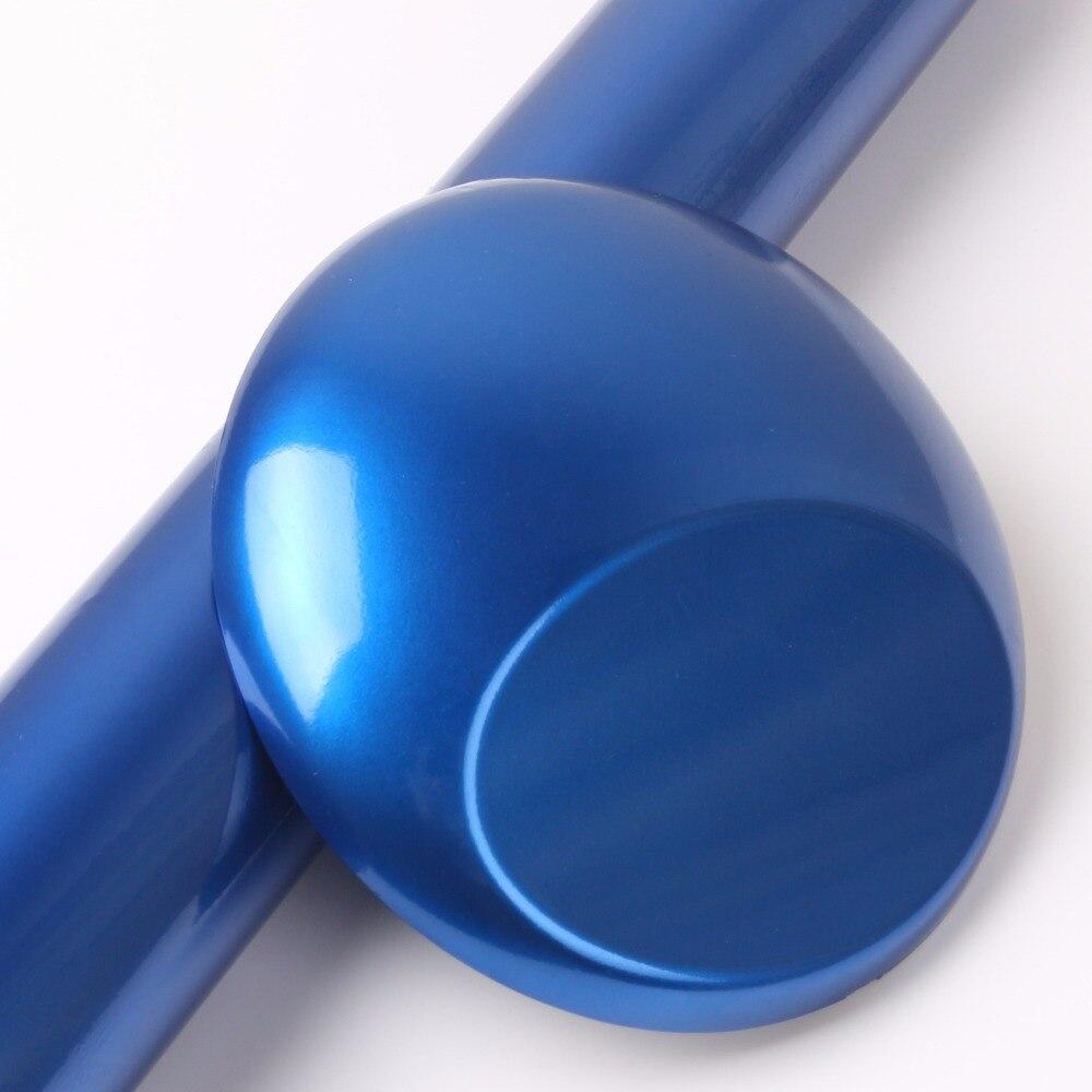 1,52x20 м воздушные пузыри Глянцевая металлического жемчуга пленка темно-синий автомобиль обертывания GMP11