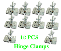 Fast Free Shipping Discount 10pcs Screen Printing Butterfly Hinge Clamps Wholesale 2 Thickness Perfect Registration