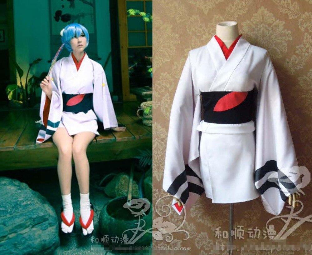 Ayanami Rei hina Аска Ева партии модные халат кимоно равномерное Косплэй костюм Бесплатная доставка