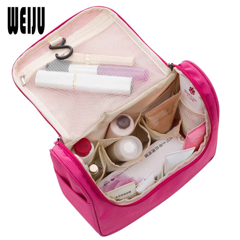 2017 Travel Cosmetic Bags Fashion Waterproof Polyester Multifunction Makeup Storage Bag High Quality Toiletry Bag For Men Women
