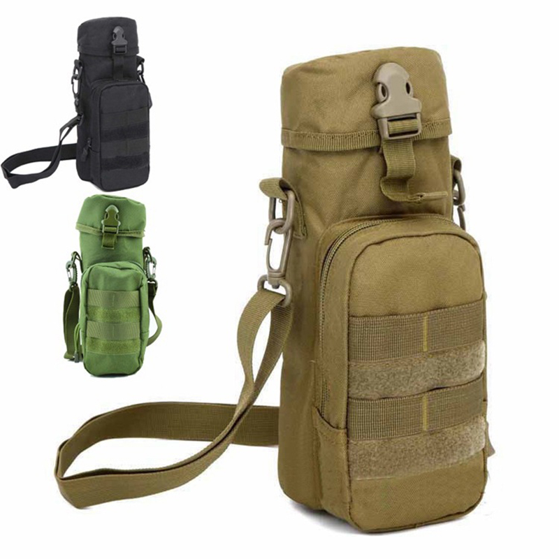 Hearty Tactical Military Kettle Bag Backpack For Men Molle Body Sling Single Shoulder Fishing Hiking Hunting Bags Sports Bag Suitable For Men And Women Of All Ages In All Seasons Climbing Bags