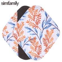 [Simfamily] 1 шт. гигиенические бамбуковые трусики Многоразовые водонепроницаемые тканевые гигиенические прокладки из бамбукового материала