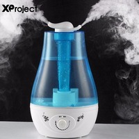Stylish Design Ultrasonic Air Humidifier Mini Aroma Humidifier Air Purifier With LED Lamp Humidifier For Portable