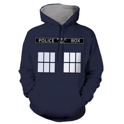 Casual Movie Doctor Strange Hoodie Fleece Coats  Cosplay