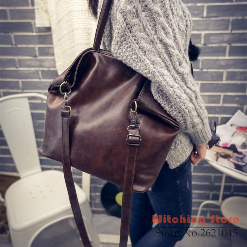 ФОТО Perfect# 2016 new summer fashion tide and the wind fan power Leather Shoulder Vintage Handbag cross Bag FREE SHIPPING