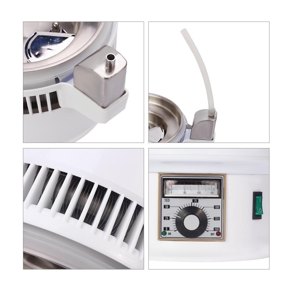 750W 4L Home Alcohol Distiller Pure Water Filter Machine 220V Distillation Purifier Dental Equipment Boiler Brewing Glass Jar - 6