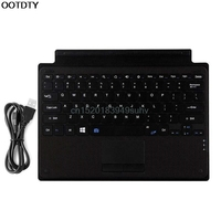 Brand New Wireless Bluetooth Slim Keyboard Touchpad For Microsoft Surface Pro 3 4 Tablet