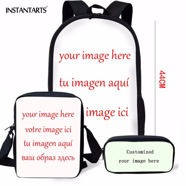Coloranimal Grand Theft Auto V Hot Game Famous Design Boy Girl Schoolbags 3Pcs Set Kid Backpack Middle School Student School Bag