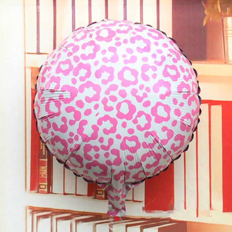 Neue 18 Zoll Leopard Druck Folie Ballons Geburtstag Party Dekoration