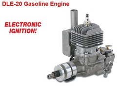 DLE20 20CC Gasoline Engine for RC Airplane