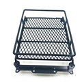 Black SCX10 Axial Luggage Rack RC 1:10 Roof Luggage Rack with LED Light Bar Wrangler Tamiya CC01  E#