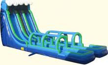 2016 factory price large inflatable slide and slid with pool / inflatable water slide for sale