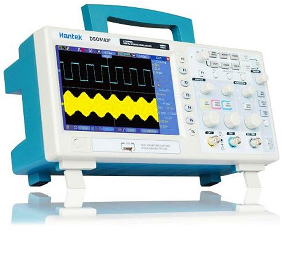 Hantek DSO5072P/DSO5102P/DSO5202P Digital Storage Oscilloscope 2channels 1gsa/s 7'' Tft Lcd Better Than- Ads 1102cal цена