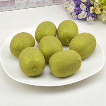 High artificial kiwi fruit golden fruit fake fruit model props home decoration fruit tea fruit kernels kiwi fruit kiwi fruit f255