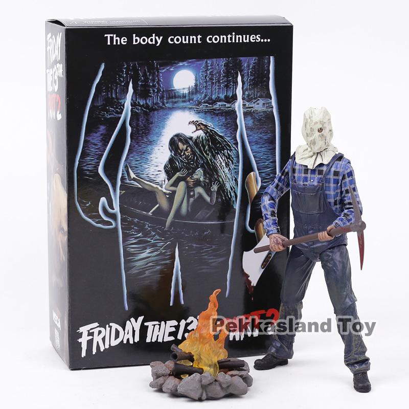 NECA Friday the 13th Part 2 Jason Voorhees PVC Action Figure Collectible Model Toy Платье