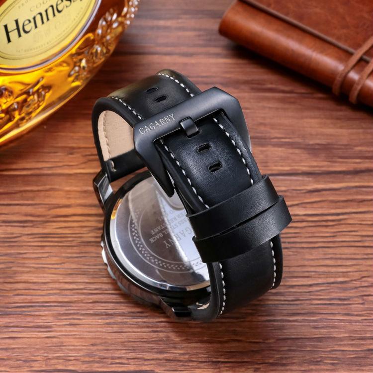 Случайни кварцов часовник мъжки - Мъжки часовници - Снимка 6