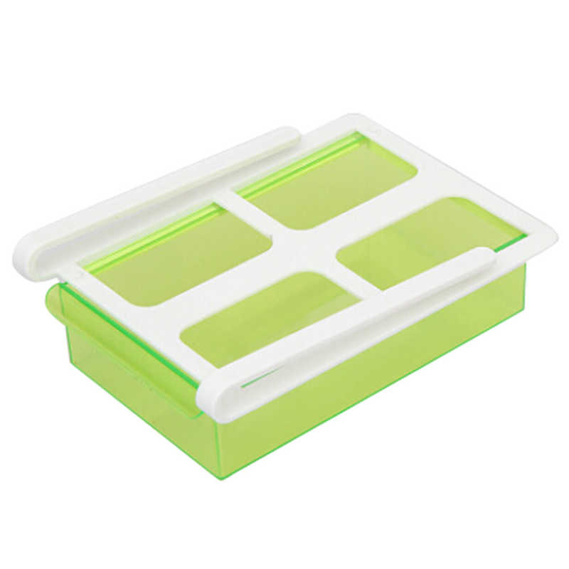 Image 5 - New listing Refrigerator Shelf Storage Rack Multifunctional  Storage Box Food Container Kitchen Tools Pollution free For food-in Racks & Holders from Home & Garden