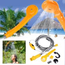 Fofar 12V Dc Camping Shower Washing set Outdoor Gear Kit Car washing Outdoor water Travel showers Auto pump pressure showers kit