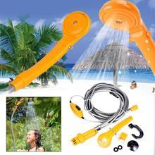 Fofar 12V Dc Camping Shower Washing set Outdoor Gear Kit Car washing Outdoor water Travel showers Auto pump pressure showers kit