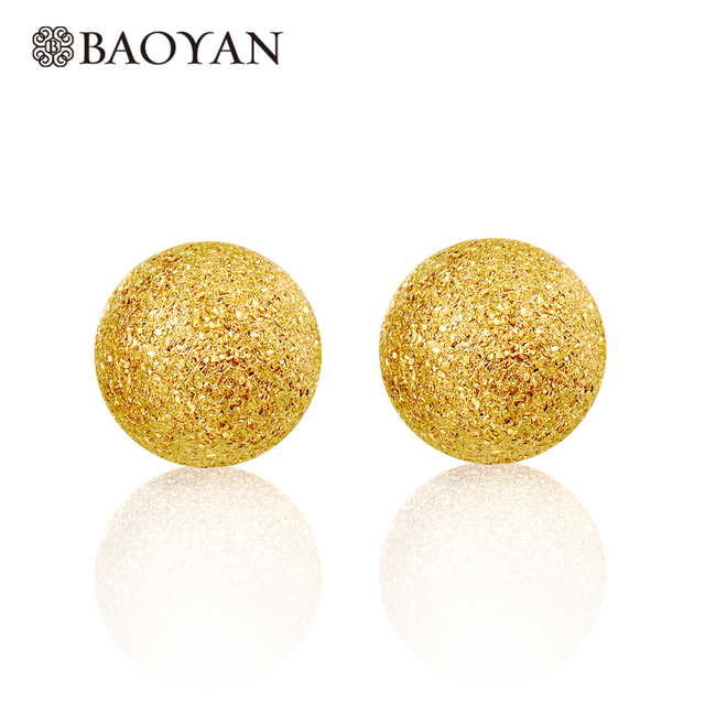 studs jewelry earrings par bling studded yellow sstr gold ball bead