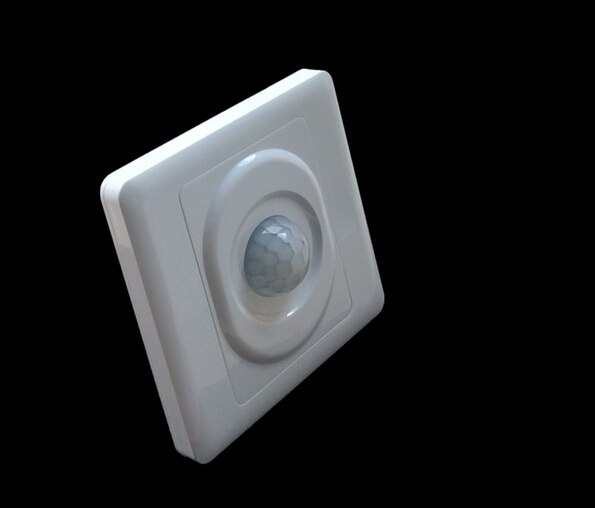 2016 New Arrival Hot Sale Infrared IR Body Motion Sensor Auto Wall Mount Control Led Light Switch For Incandescent Lamp sensor automatic light lamp ir infrared motion control switch energy saving y103