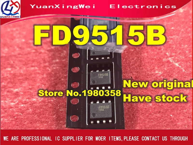 Free Shipping 100pcs New And Original FD9515B FD9515 SOP8 IC