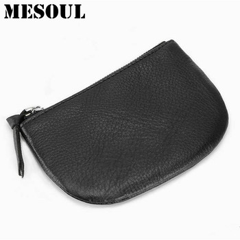 Dollar price coin purses holders Mini Bag Real Leather Fashion Small Key Holder Design Famous Brand Women Clutch Oval Money Bag