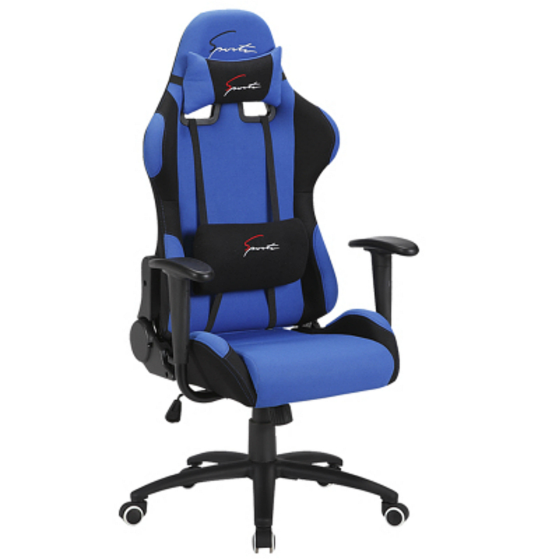 Cloth Seat E-sports Gaming Chair Bow Lifted Reclining Household Computer Chair Multi-function Slidable Adjustable Office Chair Selected Material