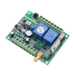 Image 3 - 12V 24V 36 10A Motor Remote Control Switch Motor Forwards Reverse Up Down Stop Door Window Curtain Wireless TX RX Limited Switch