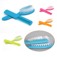 Drop Shape Brush Hair + Comb Hair Massage Sets Professional Newborn/Infant/Toddler/Baby Boy Girl Hair Care